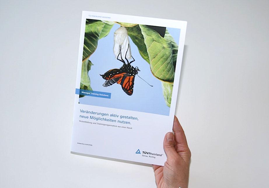 Imagebroschüre, Medienkonzept, Atelier Steinbüchel, Werbeagentur Köln