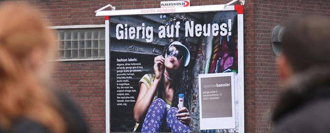 18/1 Kampagne, Atelier Steinbüchel, Werbeagentur Köln
