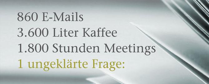 Vertriebsstrategie, Kommunikationskonzept, Unternehmensberatung, Atelier Steinbüchel & Partner, Werbeagentur Köln