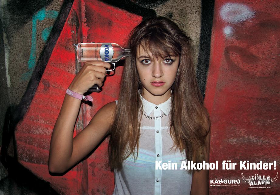Alkoholprävention, Kölner Werbeagentur Atelier Steinbüchel & Partner, Best 18/1 Wettbewerb